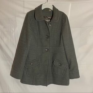 Grey BP. Pea Coat